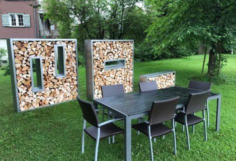 Brennholzkasten