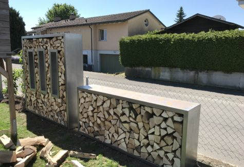 Brennholzkästen